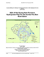 Strategic Environmental Assessment of the Quang Nam Province Hydropower Plan for the Vu Gua-Thu Bon River Basin, Vietnam