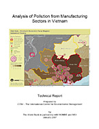 Analysis of Pollution from Manufacturing Sectors in Vietnam